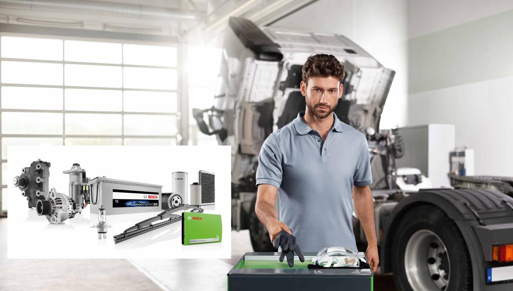 Bosch é parceiro confiável para veículos industriais