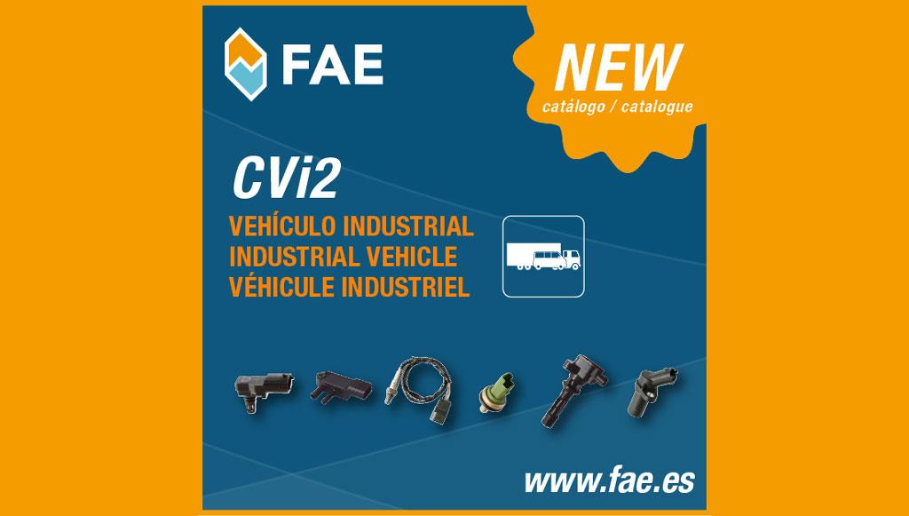 FAE tem novo catálogo para veículos pesados