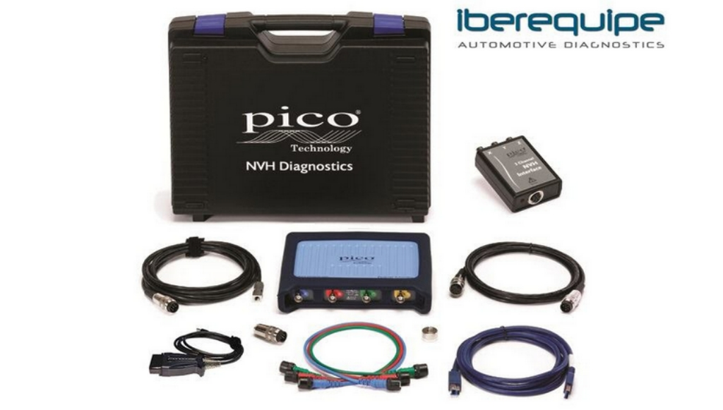 Iberequipe apresenta PicoDiagnostics NVH da Pico Technology