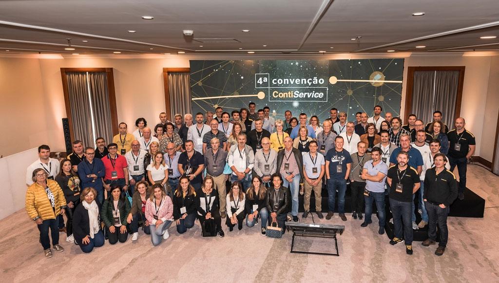 ContiService reuniu agentes em Óbidos para Convenção Anual