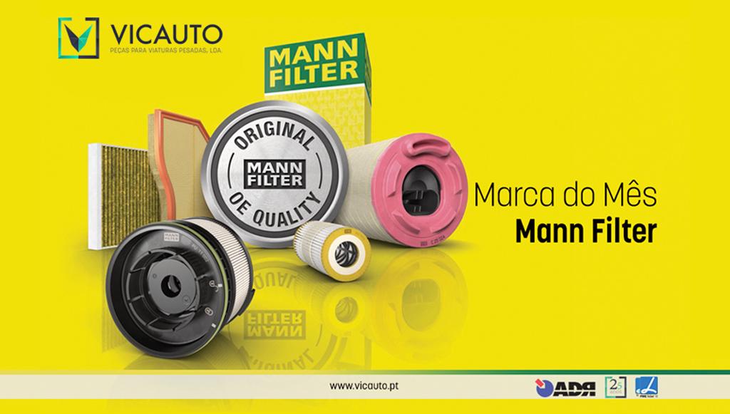 Vicauto destaca produtos MANN-FILTER em outubro