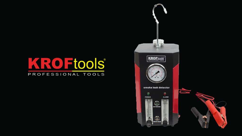 KROFtools apresenta detetor de fugas por fumo