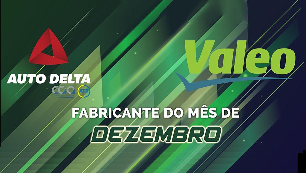 Valeo é o Fabricante do Mês de dezembro na Auto Delta