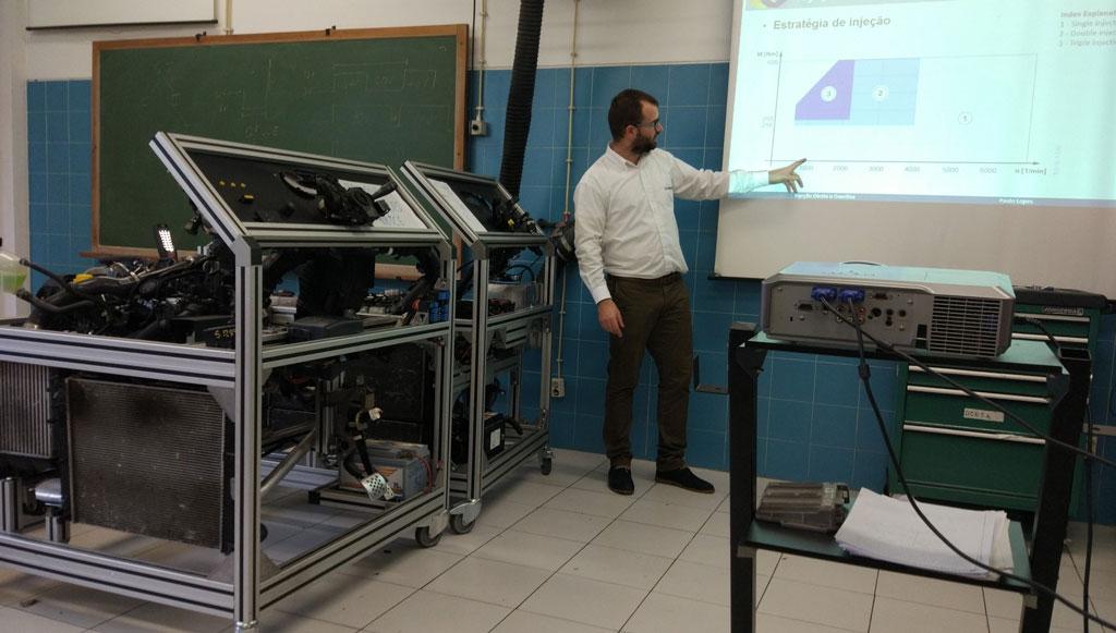 Grupo Beirauto Academia realizou formação em motores