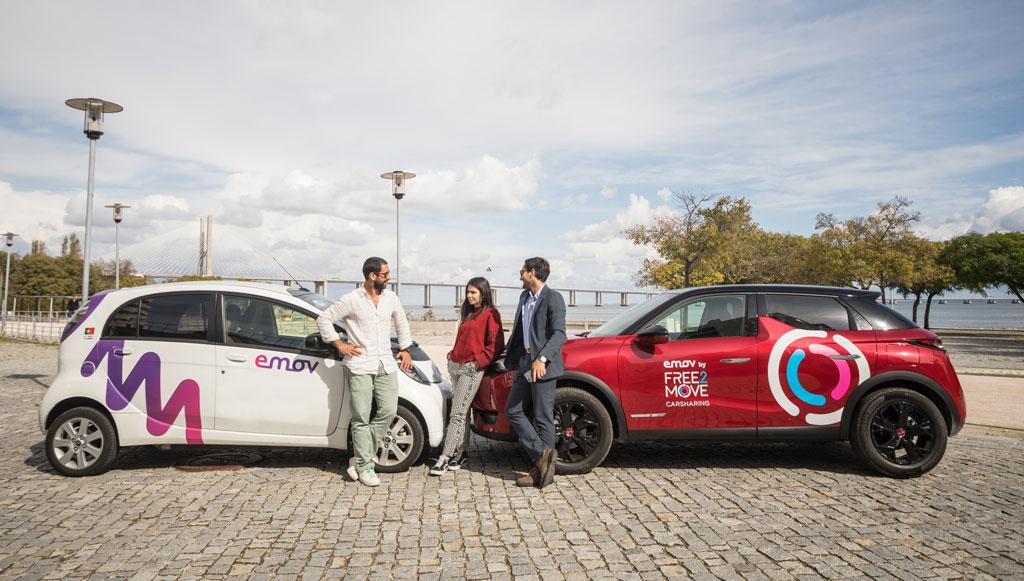 emov by Free2Move Carsharing revoluciona mobilidade