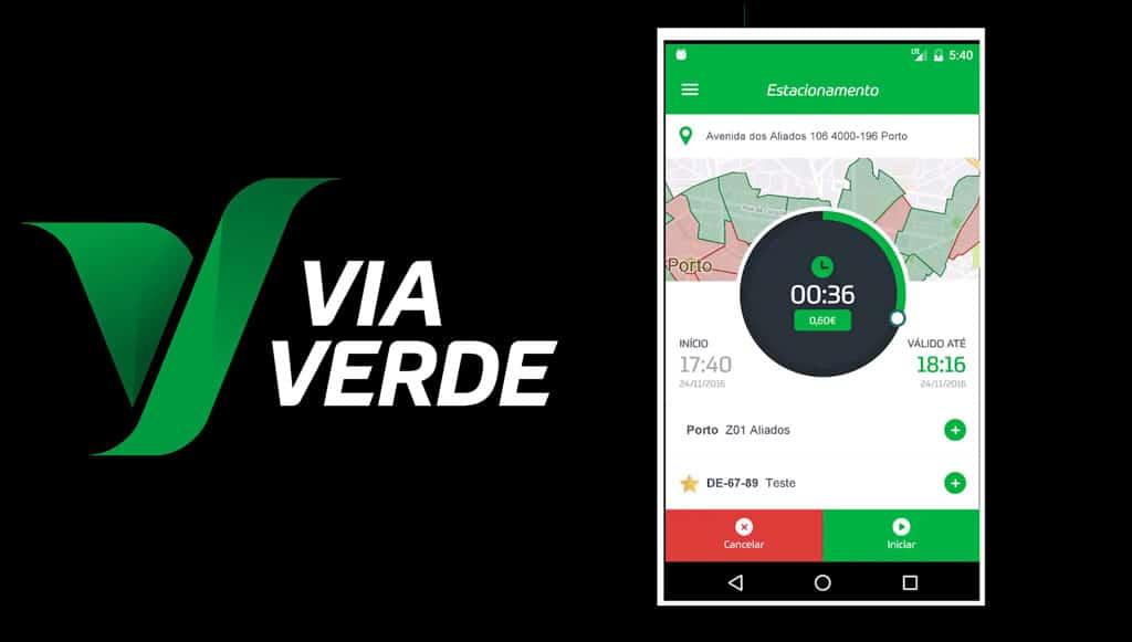 Chegou a nova <em>app</em> Via Verde Estacionar