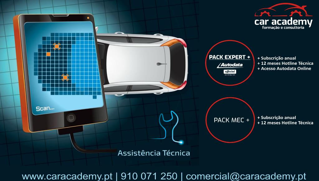 Car Academy comercializa <em>pack</em> que combina Autodata e assistência técnica