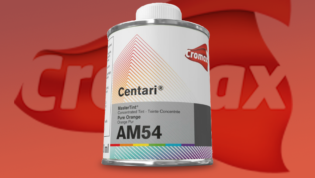Cromax introduziu Aditivo para Verniz Laranja Puro AM54