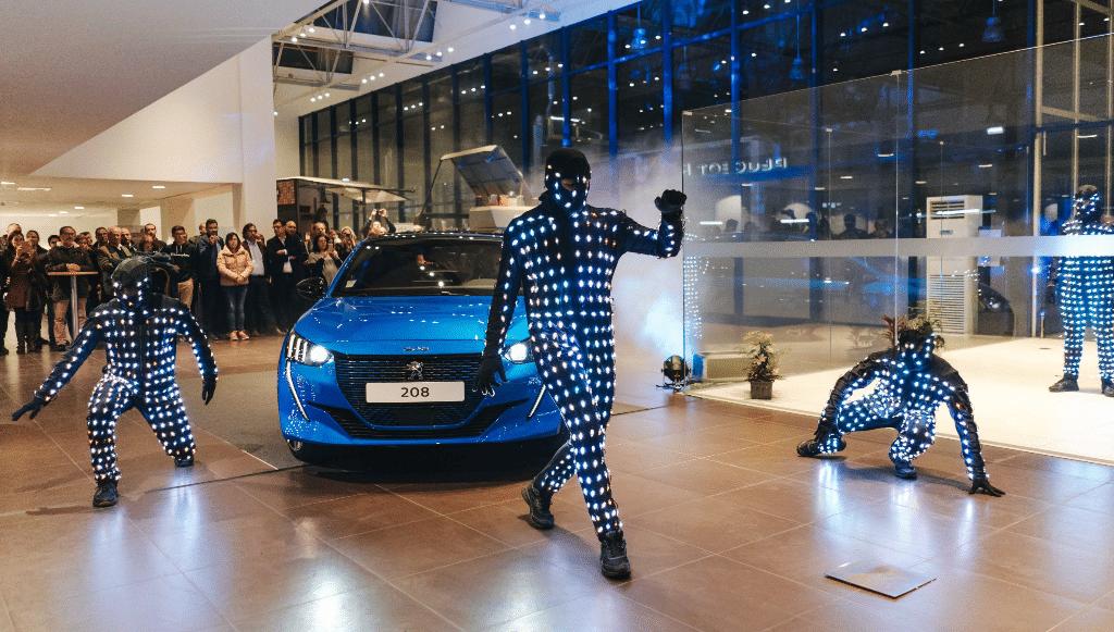 GAMOBAR apresentou novo Peugeot e-208 em exclusivo