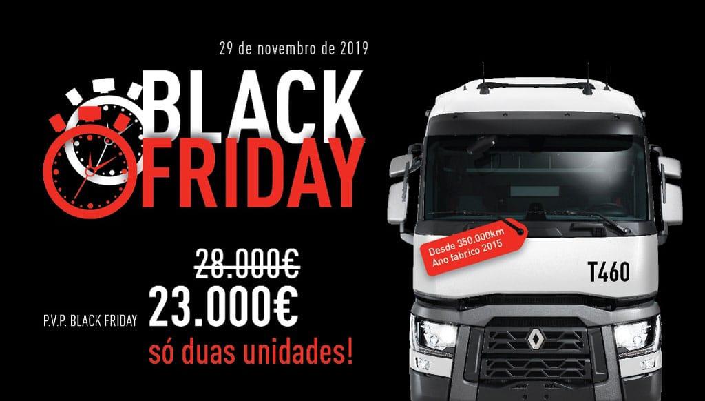 Renault Trucks adere à campanha Black Friday
