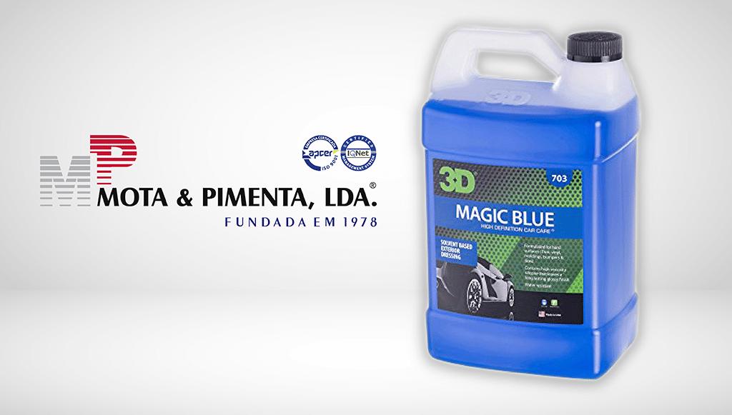 Mota & Pimenta anuncia protetor de acabamento 3D Magic Blue