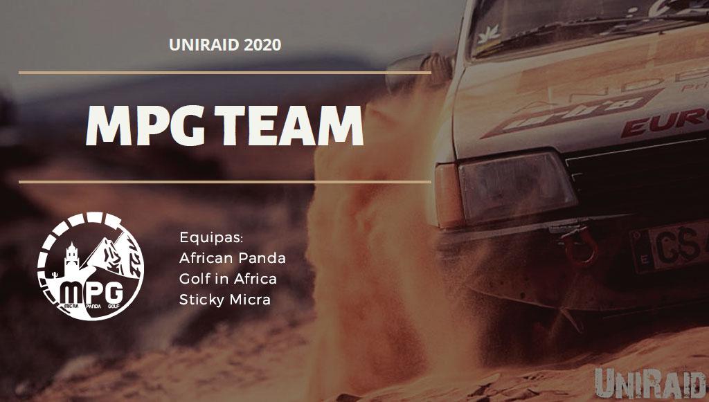 UNIRAID está aí e MPG Team prepara-se para o desafio