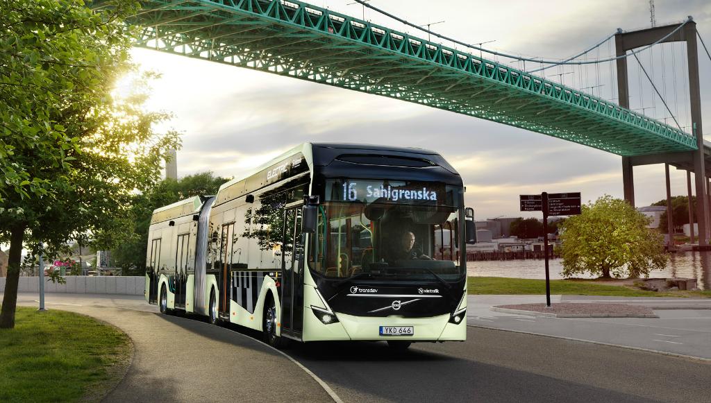 Volvo recebeu encomenda de 157 autocarros elétricos