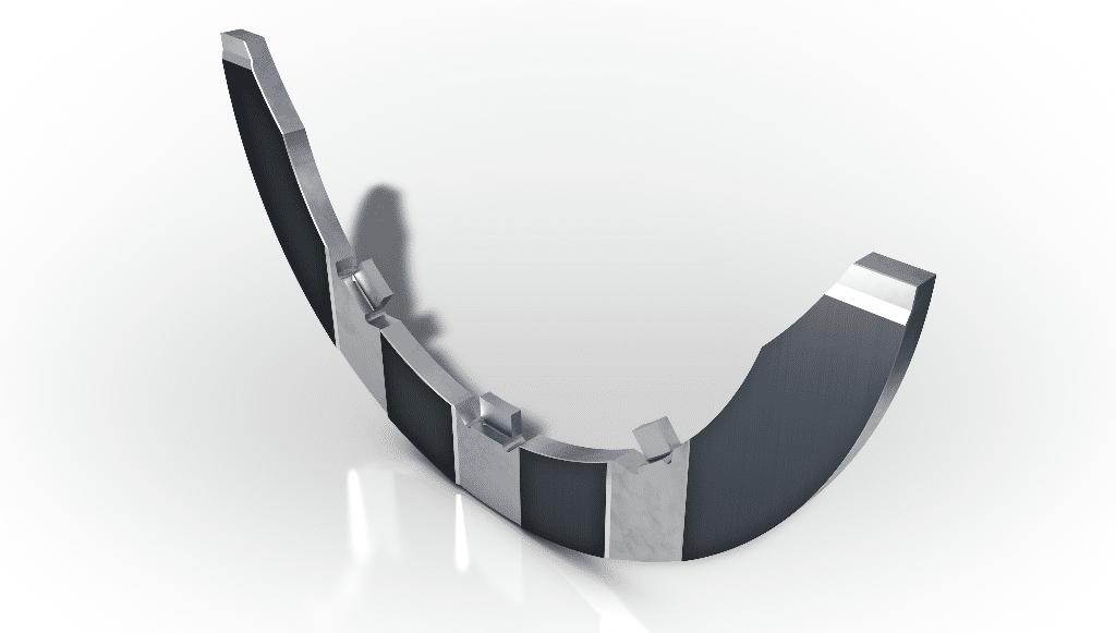 KS Kolbenschmidt tem nova anilha de impulso revestida com polímero