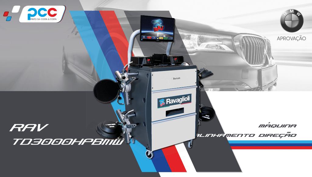 PCC tem novo sistema de alinhamento de direção RAV TD3000HP