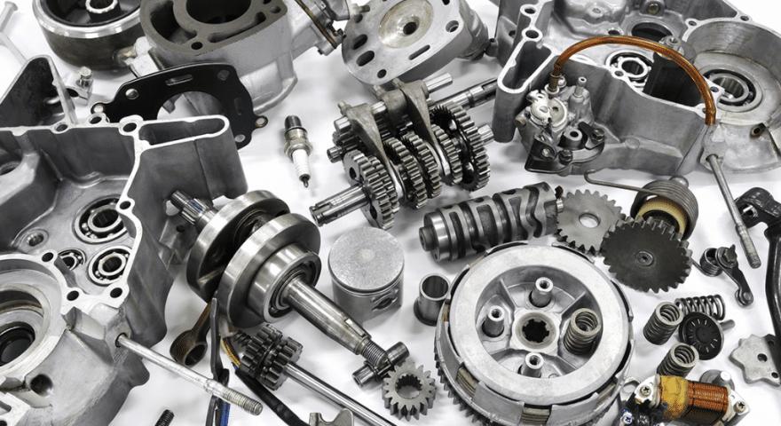Exportações de componentes para automóveis com recorde absoluto