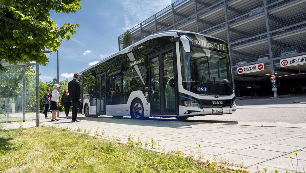 Primeira encomenda do autocarro elétrico da MAN veio da Alemanha
