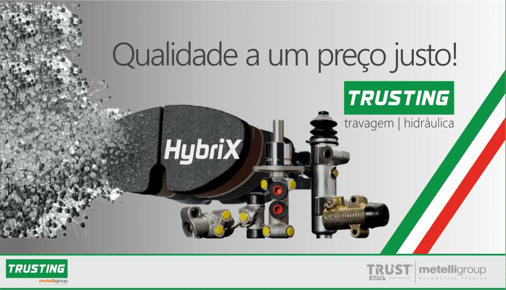 Grupo TRUSTAUTO incluiu marca TRUSTING no seu portefólio