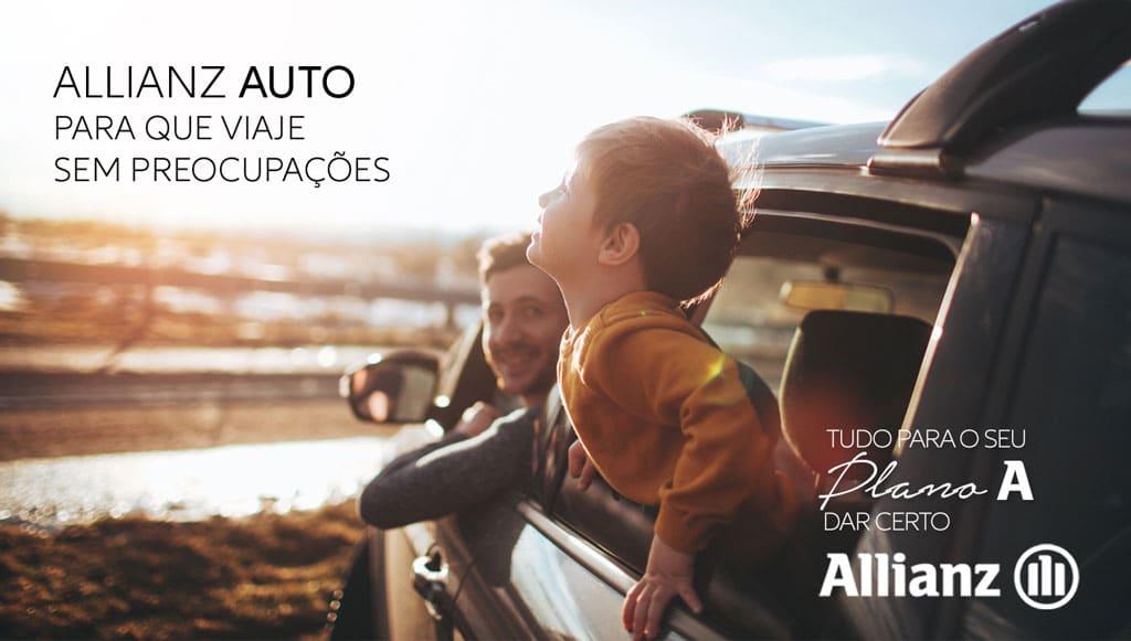 Viajar sem preocupações? A Allianz Auto tem a solução