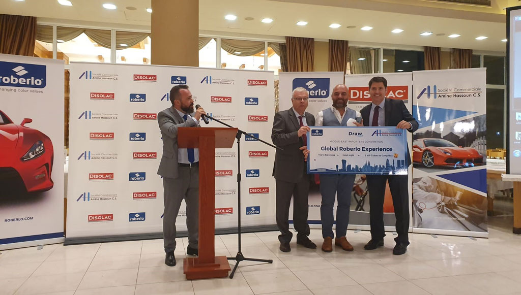 Roberlo realizou segunda convenção em Beirute, capital do Líbano