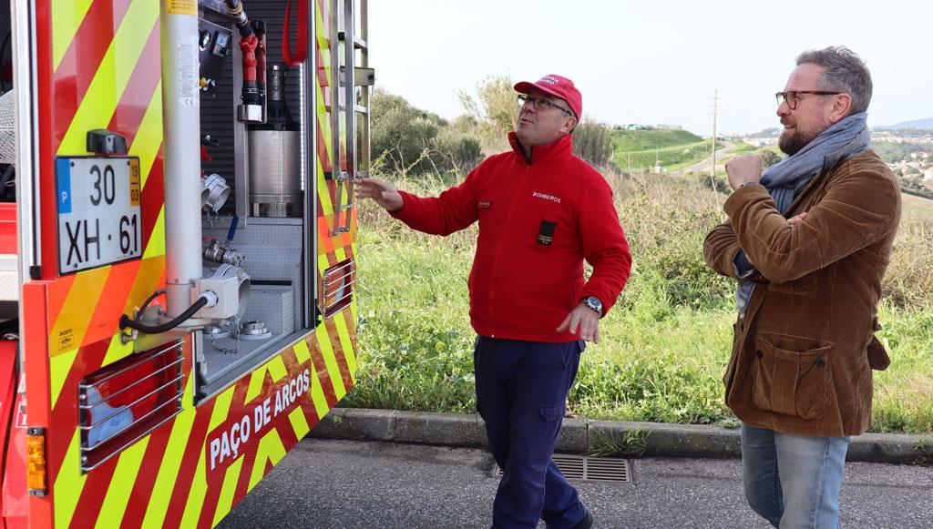 LIQUI MOLY apoia Bombeiros Voluntários de Paço de Arcos