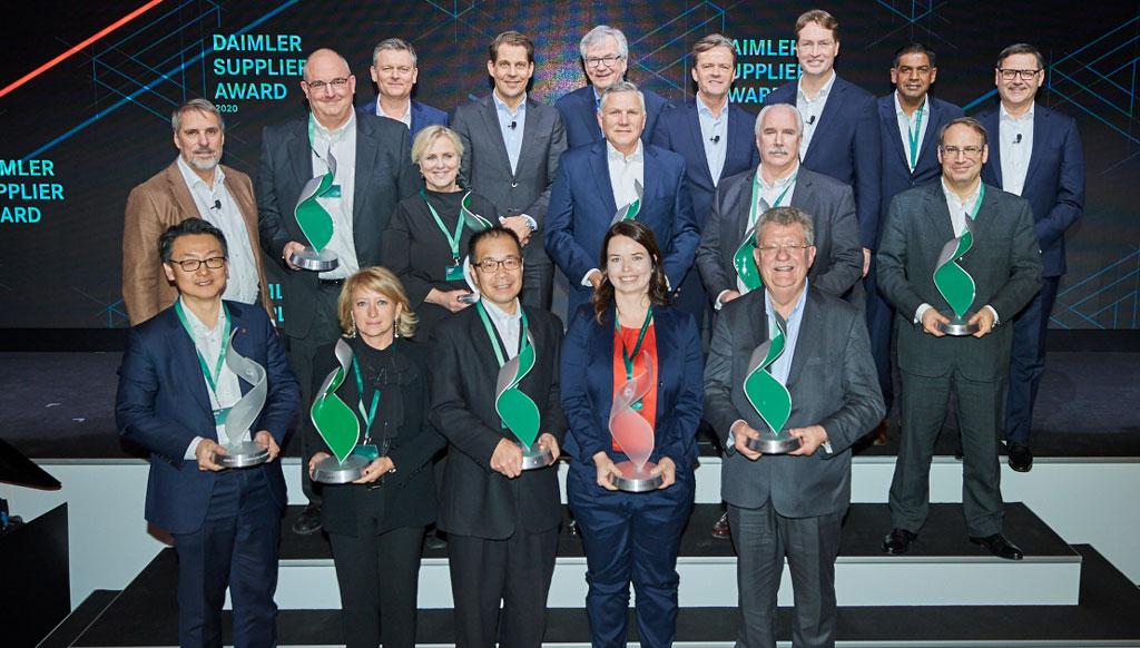 """Brembo recebeu um """"Daimler Supplier Award"""" em Estugarda"""
