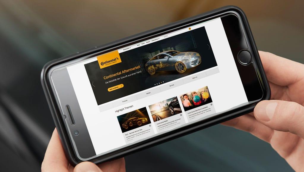 Continental lança novo <em>site</em> para o <em>aftermarket</em>