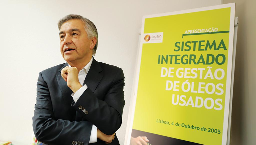 """""""As oficinas contribuem com mais de 42% do total de óleos recolhidos"""", Aníbal Vicente, Sogilub"""