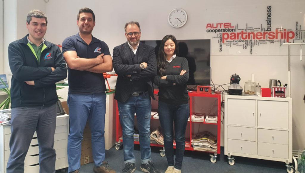LuzDeAirbag renova contrato com Autel