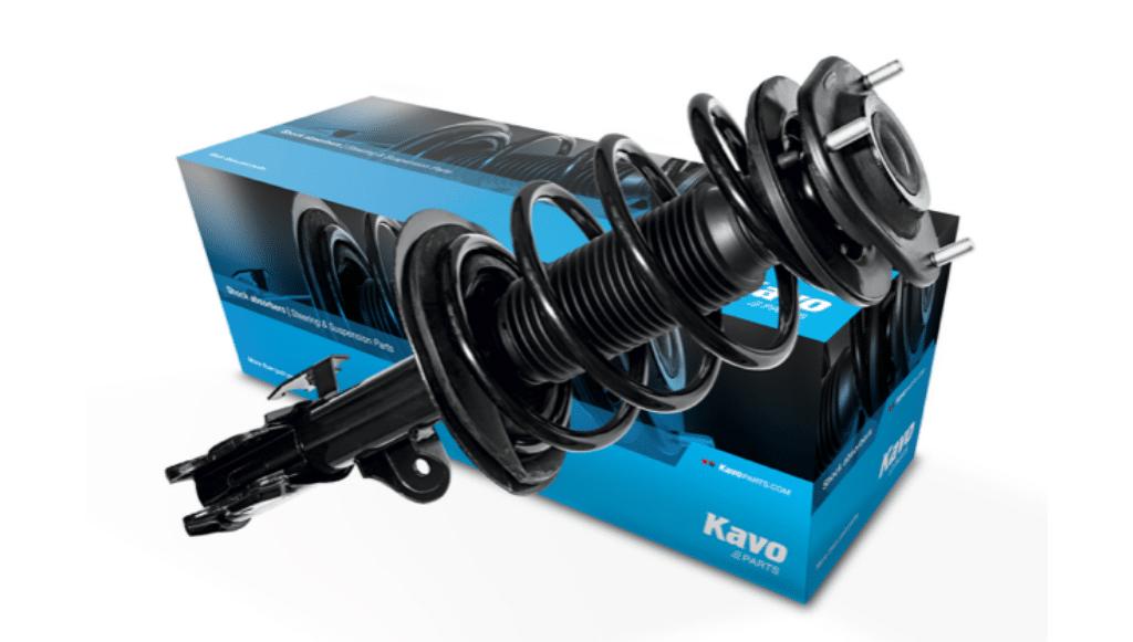 Kavo Parts ampliou gama de amortecedores para veículos europeus e norte-americanos