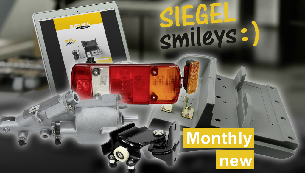 SIEGEL Smileys: seleção de novos e atrativos produtos