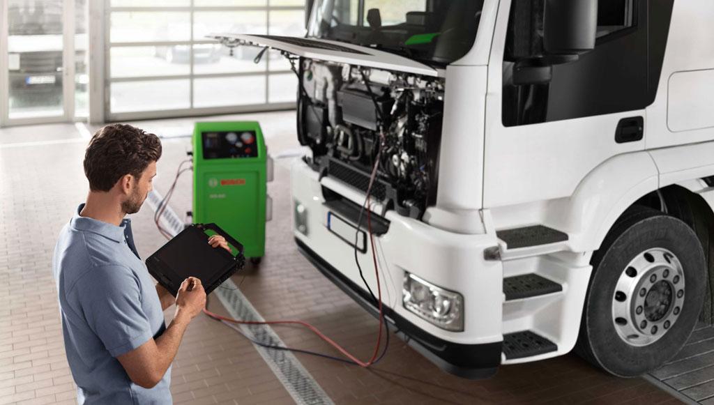 Bosch Automotive Aftermarket continua a operar para oficinas de veículos comerciais