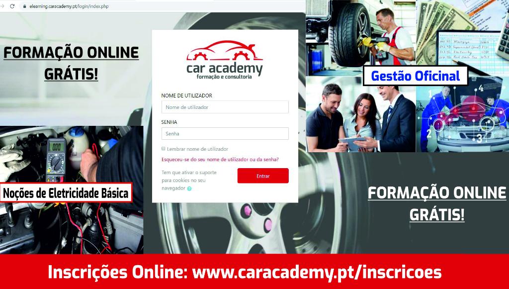 Car Academy disponibiliza duas formações <em>online</em> gratuitas
