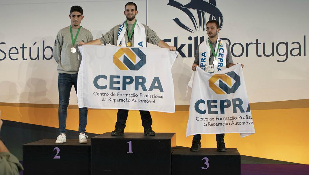 CEPRA é Campeão Nacional de Mecatrónica Automóvel e de Tecnologia de Motociclos