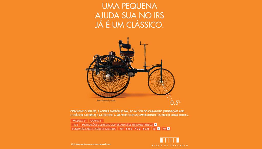 Museu do Caramulo lança campanha a apelar à consignação do IRS e do IVA