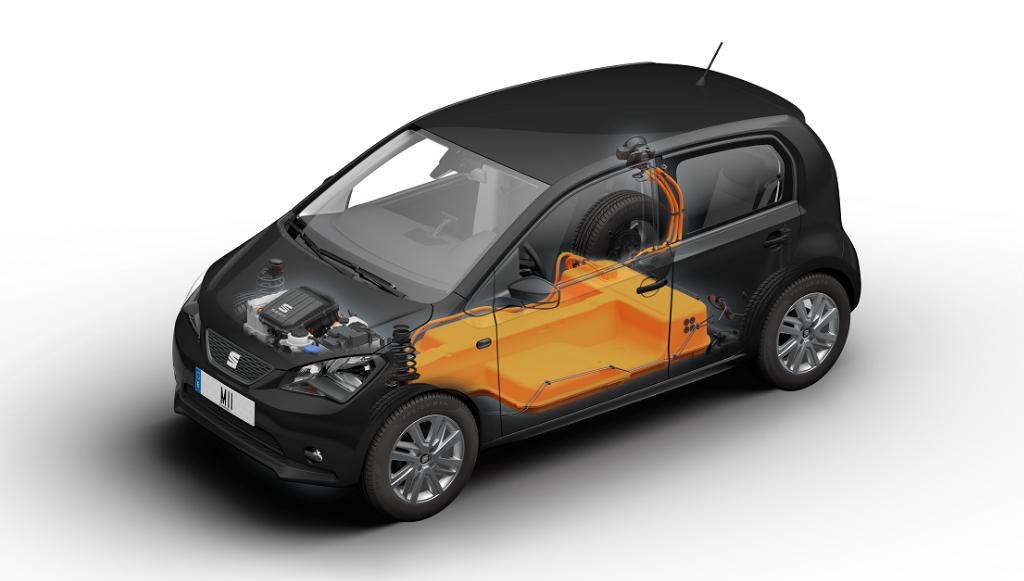 SEAT mostra radiografia de um automóvel elétrico