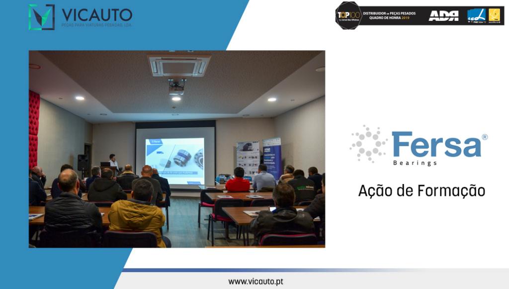 Vicauto realizou ação de formação dedicada à marca Fersa