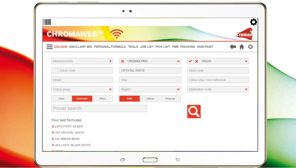 Cromax lança nova aplicação ChromaWeb para aumentar produtividade