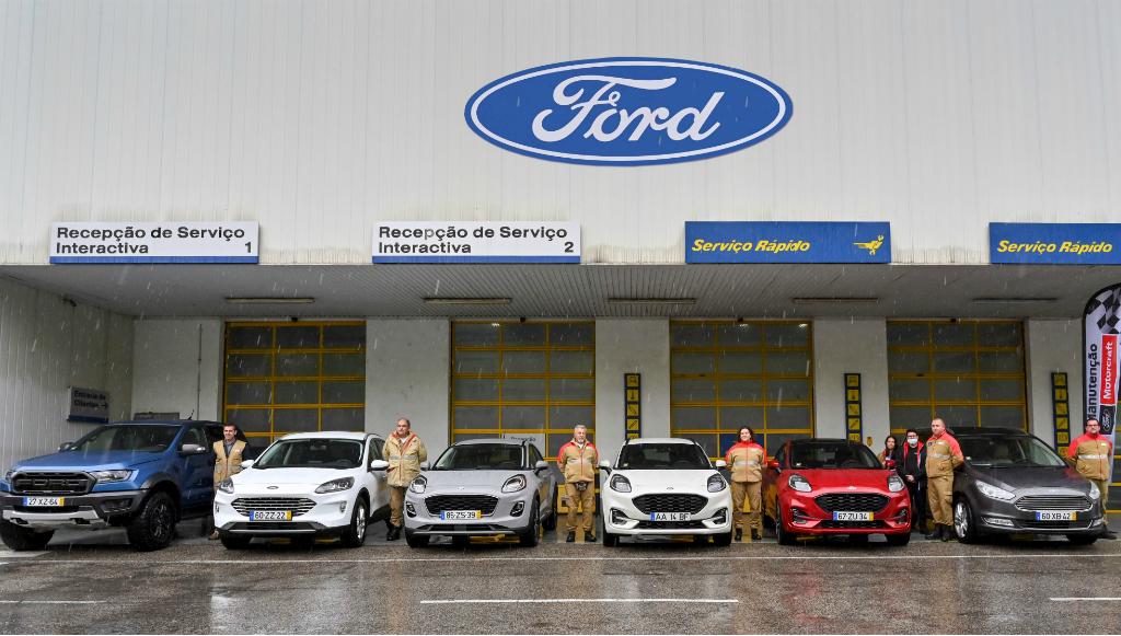 Ford cede frota de veículos à Cruz Vermelha Portuguesa