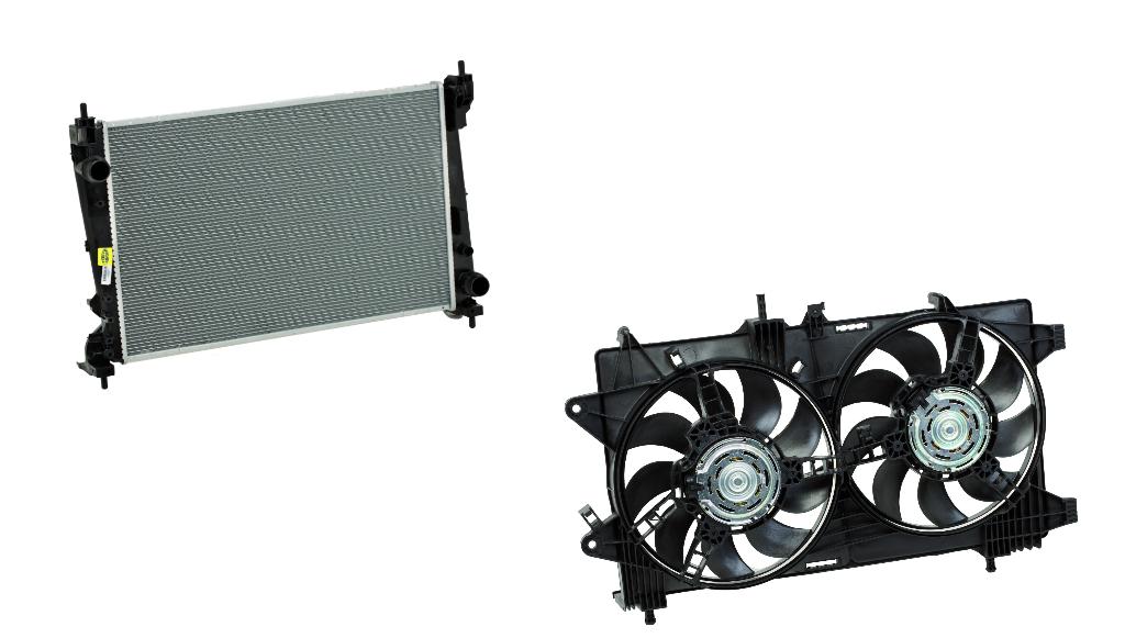 Magneti Marelli Aftermarket anuncia novidades em radiadores e ventoinhas