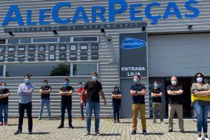 AleCarPeças celebra 1.º aniversário do armazém da Maia