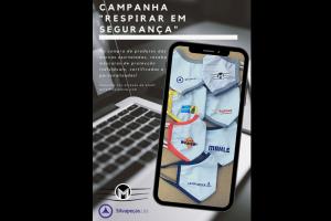 """Merpeças e Silvapeças lançam campanha """"Respirar em Segurança"""""""