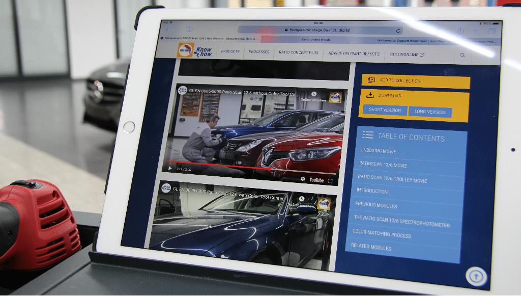 Glasurit desenvolve ações de formação <em>online</em> para clientes