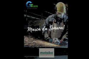 "Metabo é a ""Marca da Semana"" na Gonçalteam"