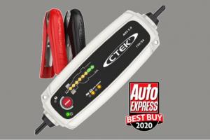 Carregador CTEK MXS 5.0 foi premiado pela revista britânica Auto Express