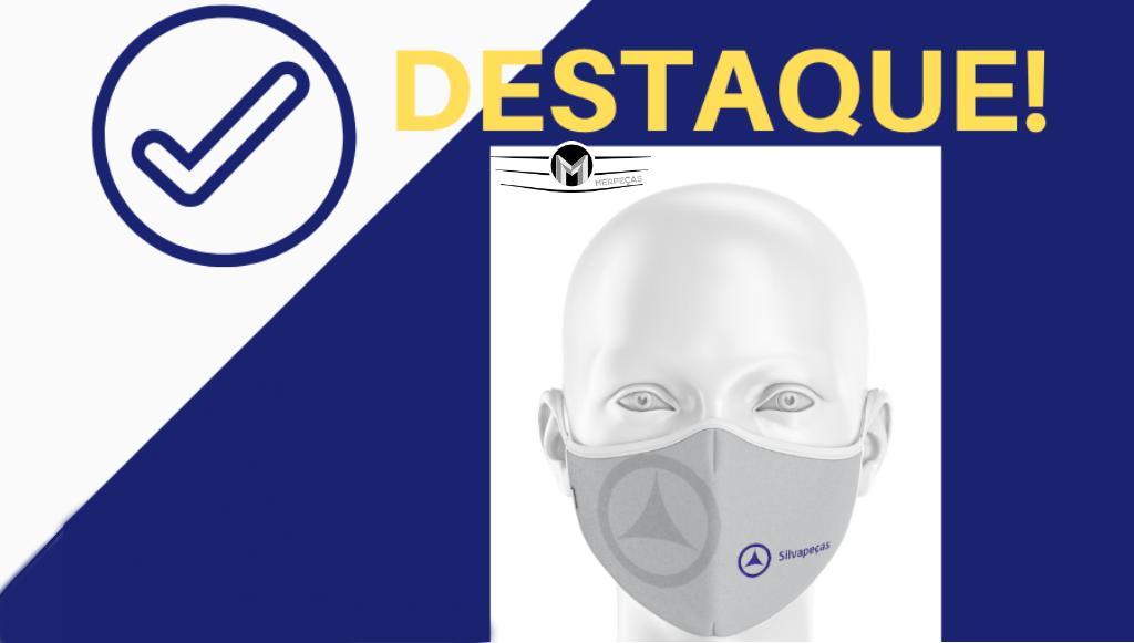 Merpeças e Silvapeças lançam máscaras de proteção comunitária