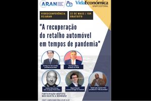 3.° Webinar gratuito da ARAN/VE é no dia 22 de maio às 15h