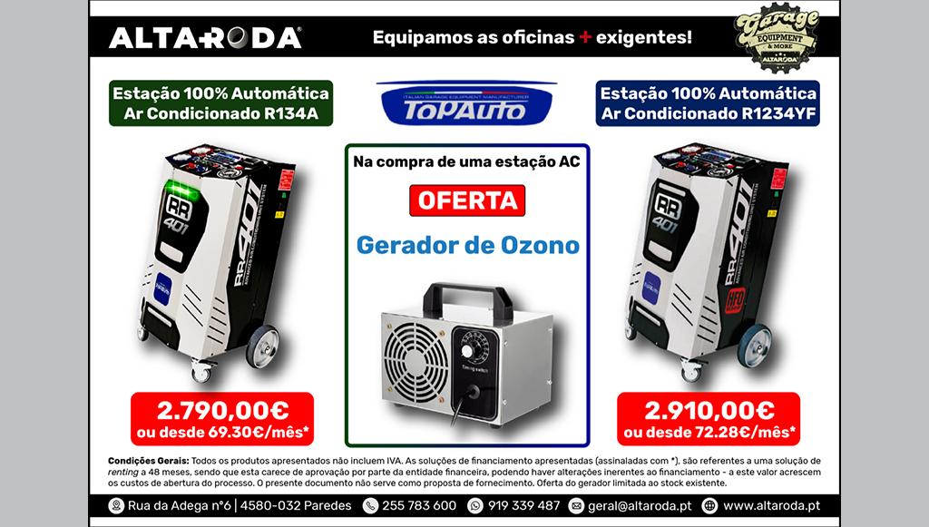 Altaroda promove Campanha Estações A/C Topauto