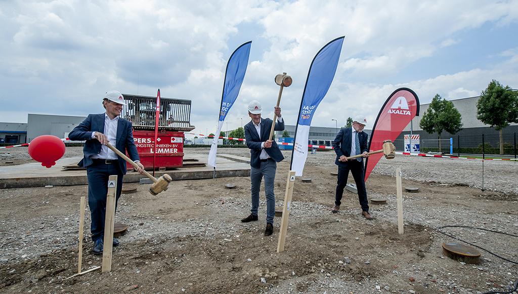 Axalta inicia construção de novas instalações