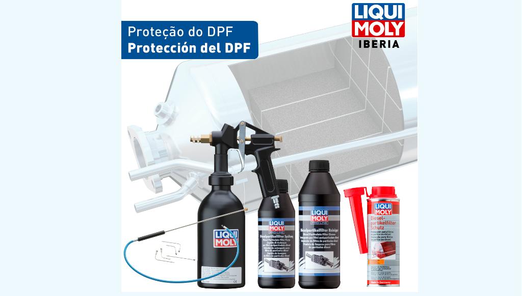 Quer proteger o filtro de partículas Diesel? Siga os conselhos da LIQUI MOLY